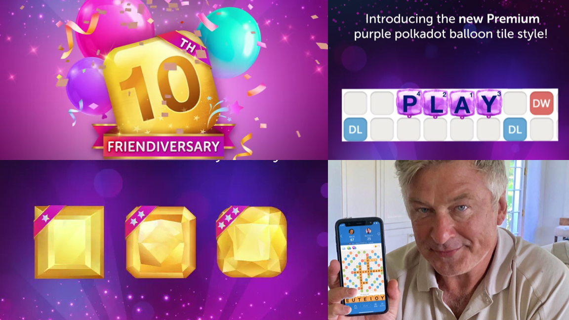 Words With Friends Ten-Year Anniversary