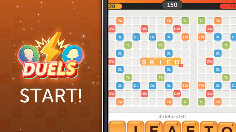Duels screenshot in Words With Friends
